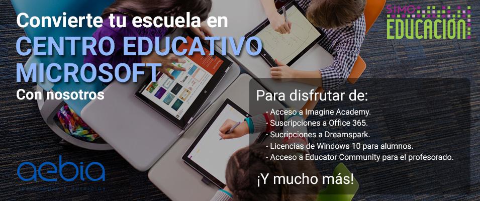 centro educativo microsoft
