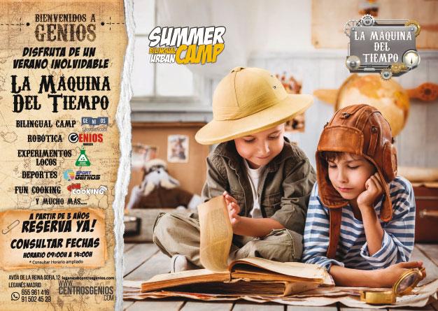 campamento de verano centro de genios