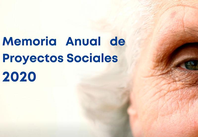 memoria anual de proyectos sociales